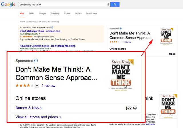Google Knowledge Graph Reklamları