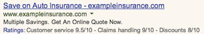 Google Tüketici Değerlendirmeleri