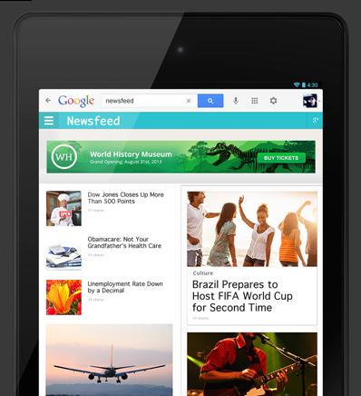 google web designer tablet